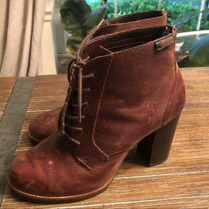 Bass Kyra Leather  Booties 8